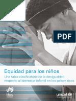 Equidad Para Los Niños UNICEF