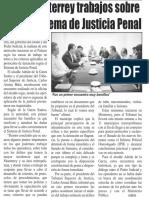 14-04-16 Inicia Monterrey trabajos sobre Nuevo Sistema de Justicia Penal