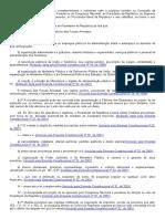 Art. 61 e 62 - CF