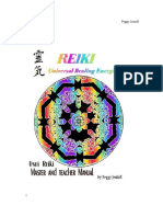 Reiki Level 3 Master Manual Peggy Jentoft