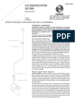 DBF110 DRYER EXHAUST BOOSTER SYSTEM INSTALLATION INSTRUCTIONS