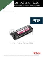 Hp Color Laserjet 3500 Cartridge Rebuild Procedure