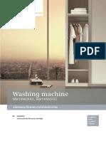 Lavadora Siemens manual