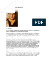 XVI Karmapa Rangjung Rigpe Dorje