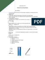 principio de arquimidez laboratorio 1