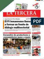 Diario La Tercera 14.04.2016