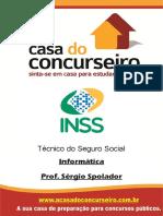 Apostila INSS 2015 - Informatica - Sergio Spolador
