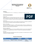 MATRIZ ML - PROYECTOS