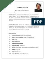 Curriculum Vitae - Esteban Viera