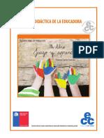 Guía Didactica de La Educadora. MI LIBRO JUEGO Y APRENDO