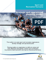 Strategic Operational and Planning Toolkit