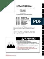 Manual de Servicio Grua Grove RT 9130E