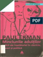 Paul Ekman Minciunile Adultilor