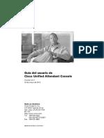 CUAttendant Console User Guide Spanish.PDF