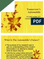 Tomorrow's Automobile