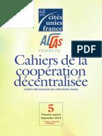 Cahiers de la cooperation descentralisée
