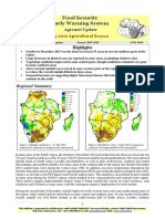 Food Security Early Warning System Agromet Update, Issue 05, December 2015-2016