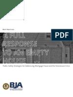 Foreclosure Crisis