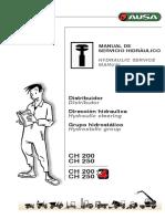 AUSA CH200-250_V1- Manual Sevicio Hidráulico