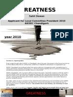 Sahil 2010 Final LCP Manifesto