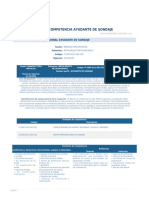 Perfil Competencia Ayudante de Sondaje