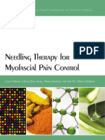Needling Therapy for Myofascial Pain Control - 2013
