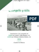 Evangelio y vida Mayo - Junio