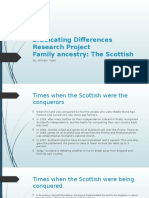 eradicating differences research project
