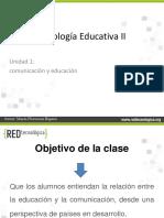 -Unidad I - Tecnol Educ II - 1.1. Comunicacion y Educacion -V1.0