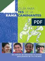 Guía Para Dirigentes de La Rama Caminantes