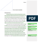 peer review - feedback for me