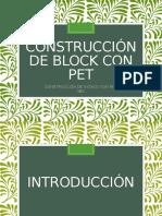 Exposicion_Construcción de Block Con Pet