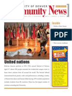 May 2010 Community News