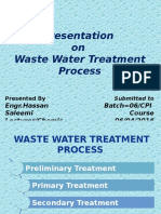 WaterWaste Treatment Lecture 1