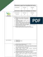 Spo Penanganan Limbah Dan Pengendalian Lingkungan