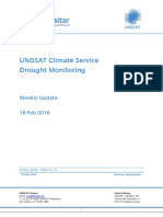 UNOSAT Climate Service Drought Monitoring, report n°01, 18 February 2016