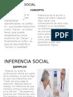Inferencia Social