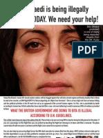 Save Bita Leaflet A5