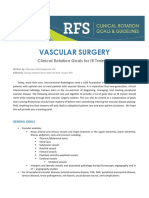 Vascular Surgery Rotation Clinical Goals for i r Trainees