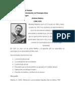 Fichas de contenido teórico de Maslow y Rogers