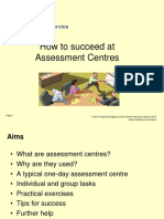 Assessment Centres 2010-11 Updated