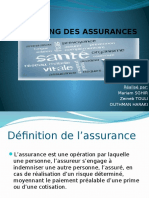 Marketing Des Assurances