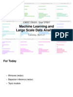 Big data machine learning topic models text recognition natural language processing