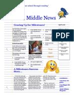 davis middle newletter