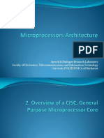 Microprocessors Ch2. Overview of a CISC Microprocessor Core - HC 2016 v1