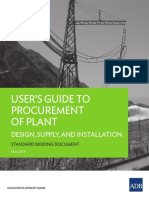 ADB Guidlines Standard Bidding Doc Plant 2014