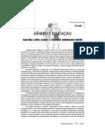 Guacira Lopes Louro- Genero e Educação