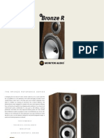 Monitor Audio Bronze Brochure