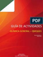 Guía de Actividades Química General - Qmqg01