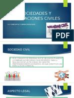 Sociedades y Asociaciones Civiles presentacion